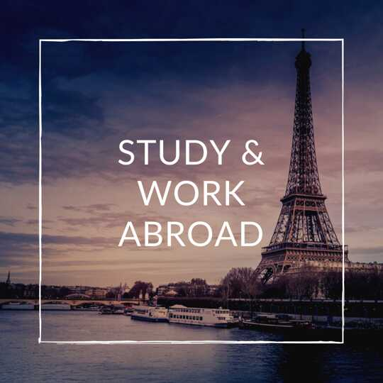 Studying & Work Abroad