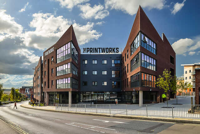 The Printworks, one of the University of Exeter's student halls