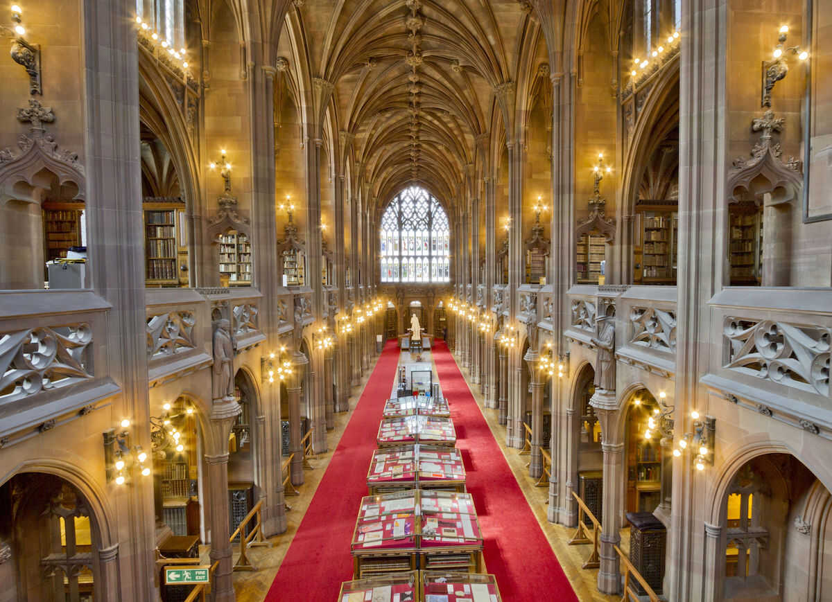 The John Rylands Library Interior
