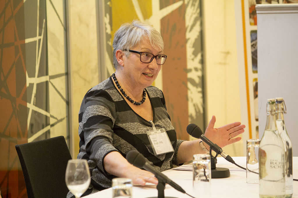 Professor Uta Frith at the Royal Society Women in Science panel discussion 2013